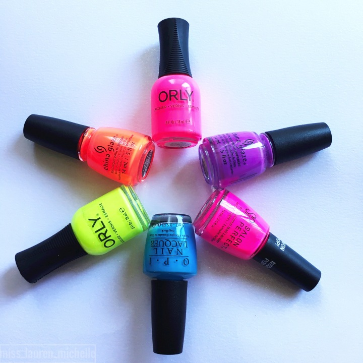 My Go-To Bright Summer Nail Polishes