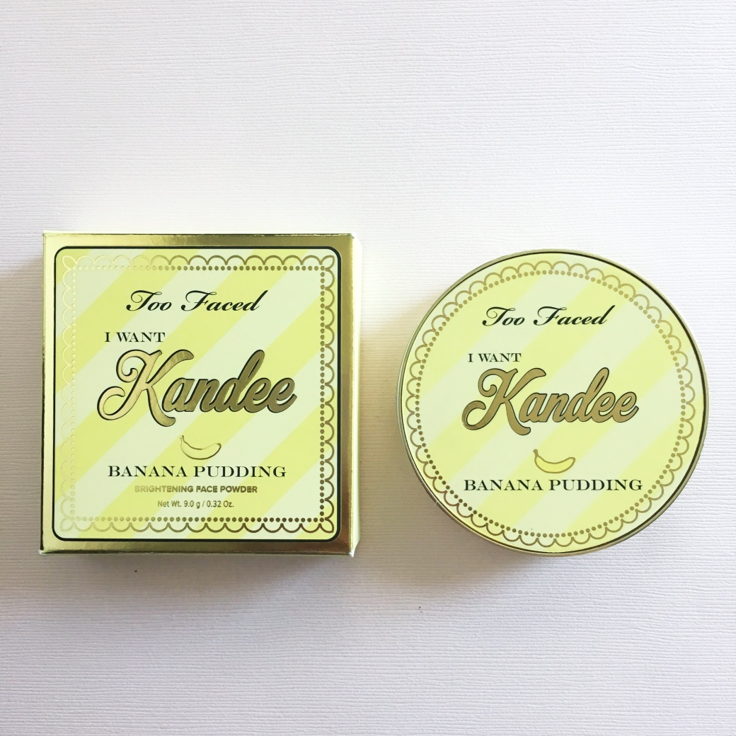 Too Faced Banana Pudding